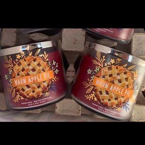 Warm Apple Pie Candle Set